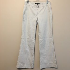 Theory baby blue flare leg pants